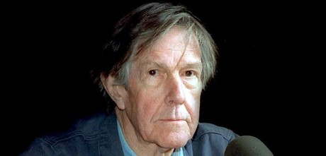 El compositor norteamericano John Cage en Cambridge en 1989.