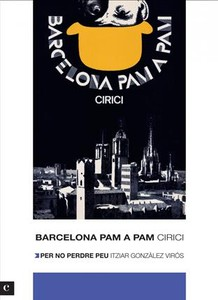 Portada de la nueva edicin (2012) de 'Barcelona pam a pam'