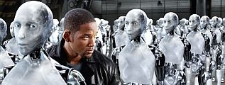Will Smith y los robots de Isaac Asimov