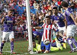 El Espanyol cae ante el Atl�tico en el Vicente Calder�n