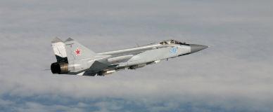 Avi�n militar ruso, en el espacio a�reo europeo.