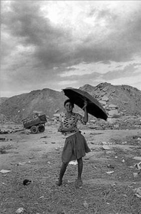 Ramón Zabalza: Fotografía del distrito de San Blas, en Madrid, en 1973