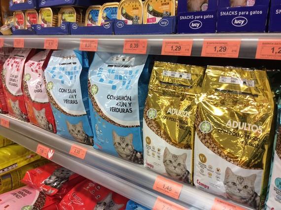 Compy de mercadona es el producto recomendado por la ocu - Estanterias para gatos ...