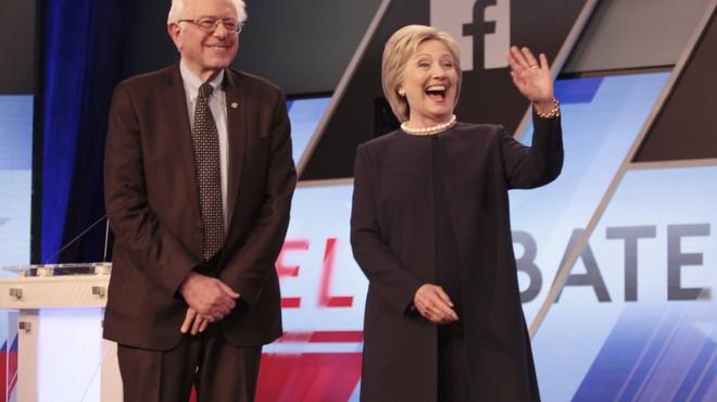 Clinton i Sanders endureixen el seu duel