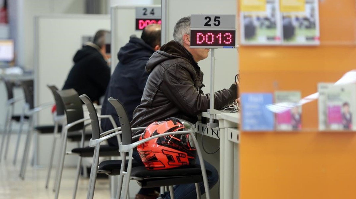 Un mercado laboral de contratos fugaces for Oficina de registro barcelona