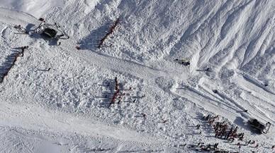 Dos alpinistes catalans moren als Alps