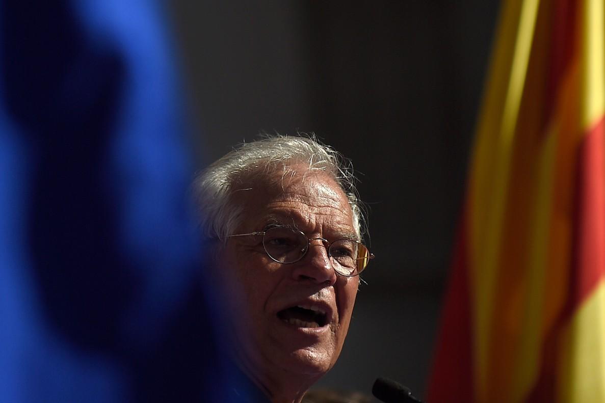 Josep Borrell, durante su discurso