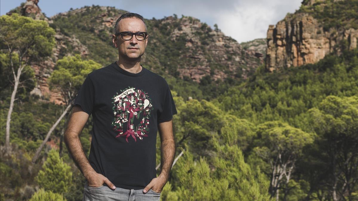 El músico y escritor valenciano Xavi Sarrià