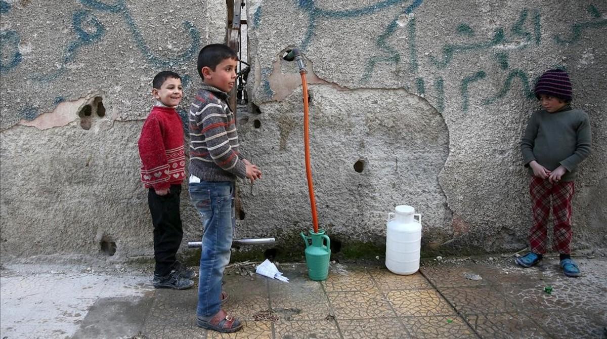 Agua que mata niños