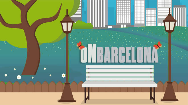 On Barcelona - Llocs on llegir a l'aire lliure