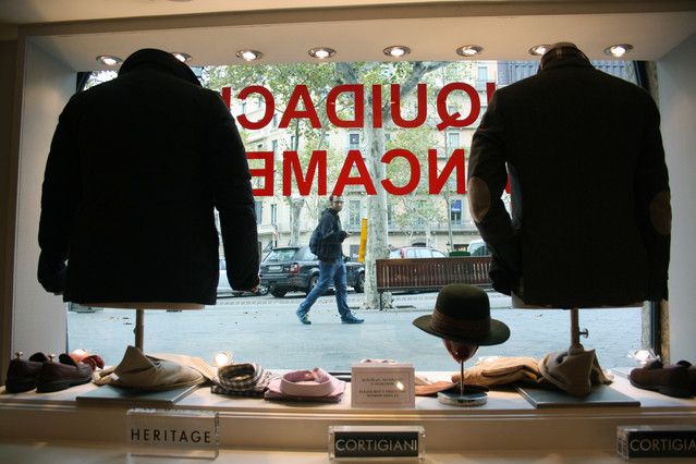 Mosella, la segunda tienda m�s antigua del paseo de Gr�cia, baja las persianas tras 83 a�os en activo