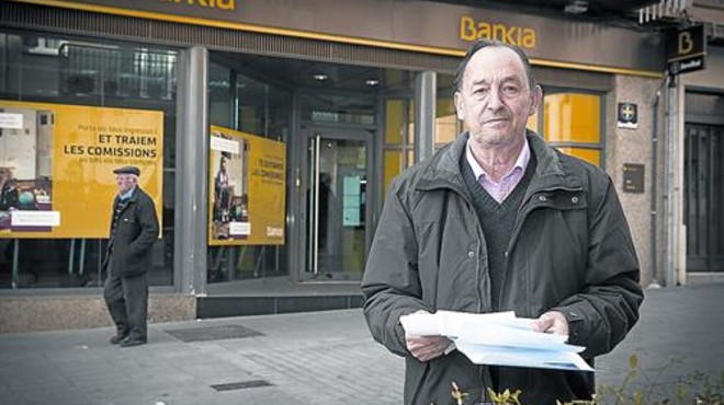 Florenci Calpe: «La devolució de Bankia serà per a la boda del fill»