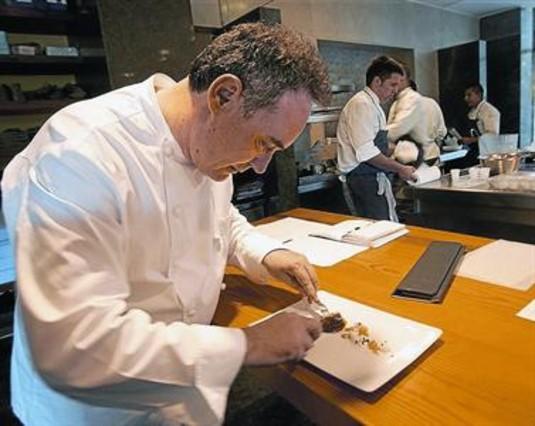 El bulli se convierte en plat de su propia serie for Ferran adria platos