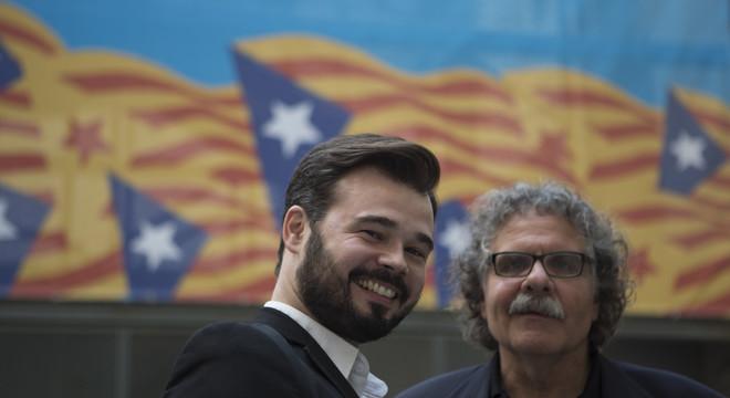 """Rufián denuncia la """"política de la por"""" que porta a terme el Govern"""