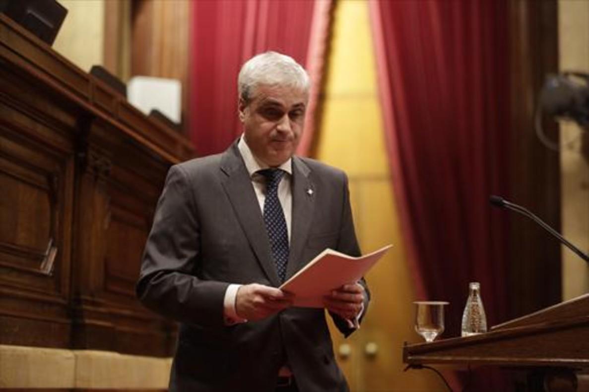 El TSJC sugiere al juez del 'caso 3%' que ofrezca declarar a Gordó