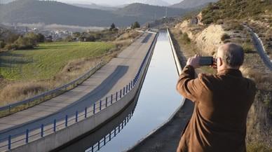 Indignació a les Terres de l'Ebre per un nou transvasament d'aigua fora de la conca del riu
