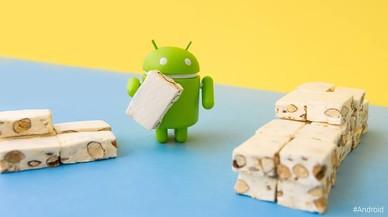 Imagen promocional de Android 7.0 Nougat.