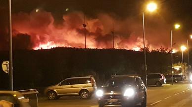 10.000 evacuats per l'incendi de Bormes-les-Mimosas, al sud de França