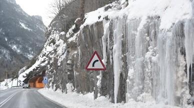 El termòmetre baixa a Catalunya per sota dels -20 graus