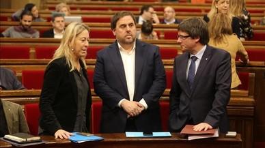 """Puigdemont: """"El que uneix els catalans és el referèndum"""""""