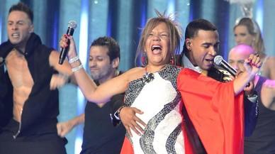 Loalwa Braz, vocalista Kaoma, en la entrega de los premios Billboard Latinos.