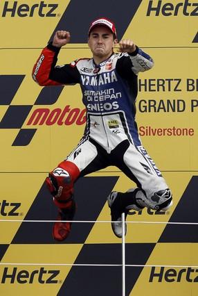 Cuarto triunfo del año de Lorenzo en Silverstone