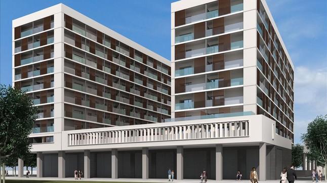 El 39 Banco Malo 39 Construye En Badalona