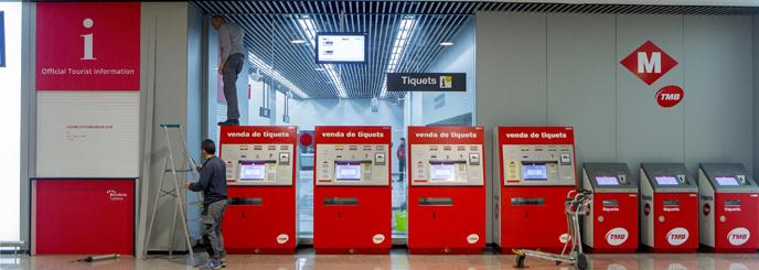 �Metro, al aeropuerto!
