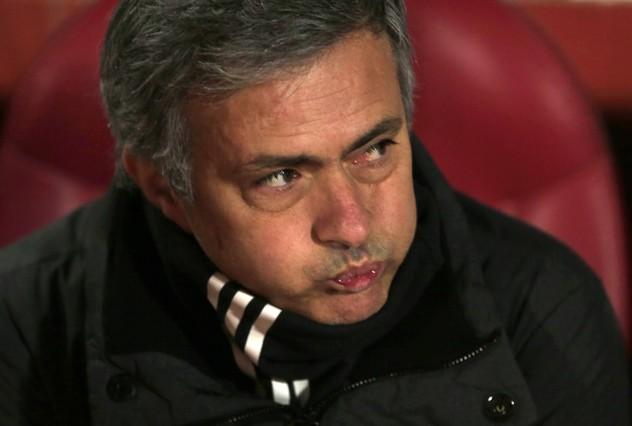 """Mourinho: """"El primer tiempo ha sido horrible"""""""