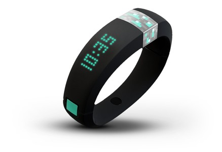 La pulsera Gameband+Minecraft.