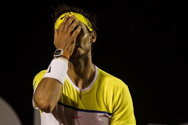 """Nadal: """"Llevo tres partidos seguidos perdiendo a muy pocos puntos de ganar"""""""