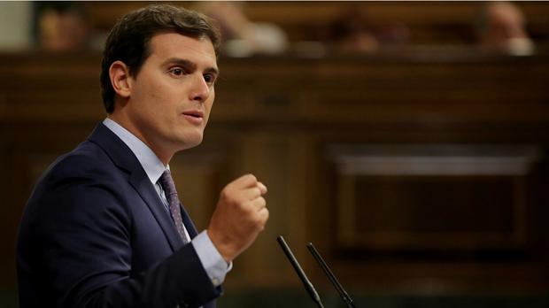 """Rivera reclama a Rajoy """"firmeza"""" contra el independentismo"""