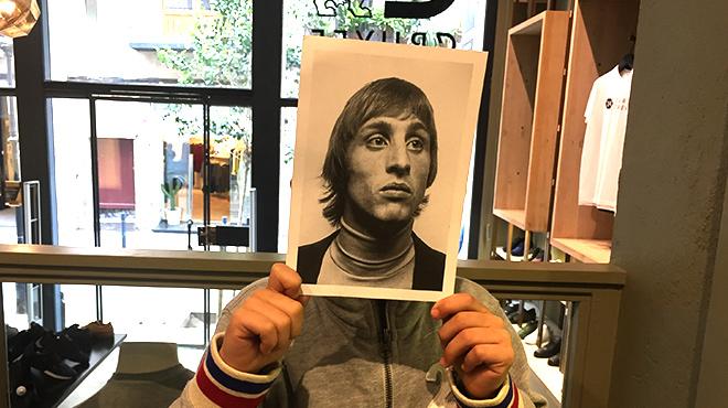 ¿Vols pentinar-te com ho feia Johan Cruyff?