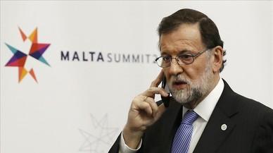 Rajoy evita hablar del plan contra el referéndum y dice que quiere diálogo