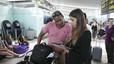Segundo d�a de retrasos en el aeropuerto de El Prat