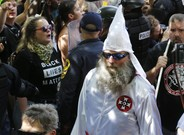 zentauroepp39647139 this july 8 2017 photo shows members of the kkk escorted by170813174904