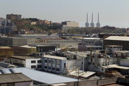 El Poligono Industrial del Bon Pastor. En la imagen, vista hacia Caracas y Potosi desde Ciudad de Asuncion.