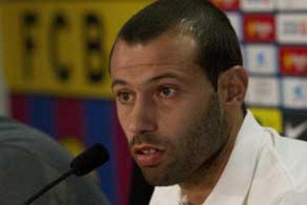Javier Mascherano.
