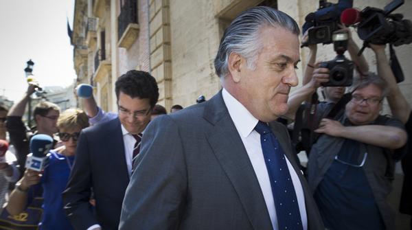 El extesorero del PP Luis Bárcenas. MIGUEL LORENZO