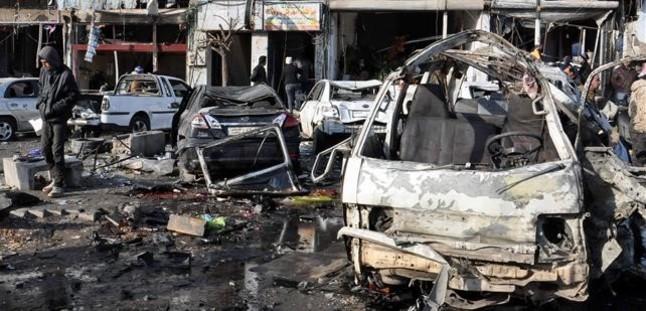 Doble atentado en Homs