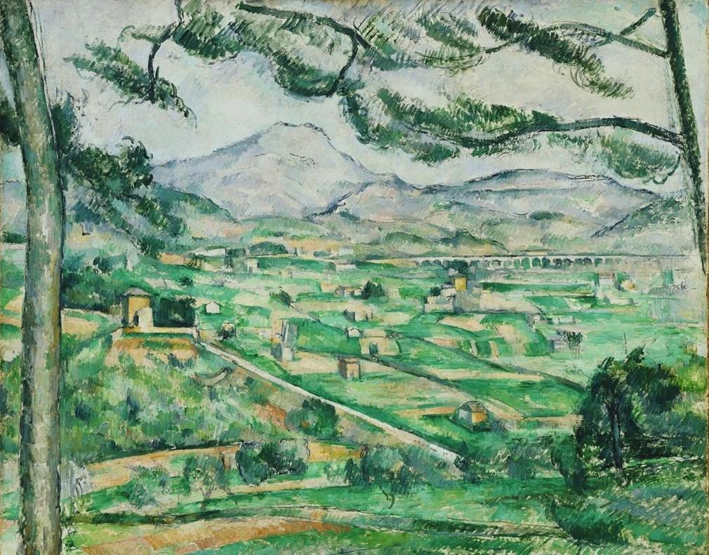 La montaña Sainte-Victoire, de Paul Cezanne, en CaixaForum.