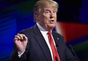 Trump, en el debate de Miami.
