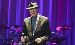 Leonard Cohen, en el Palau Sant Jordi, en octubre del 2012.