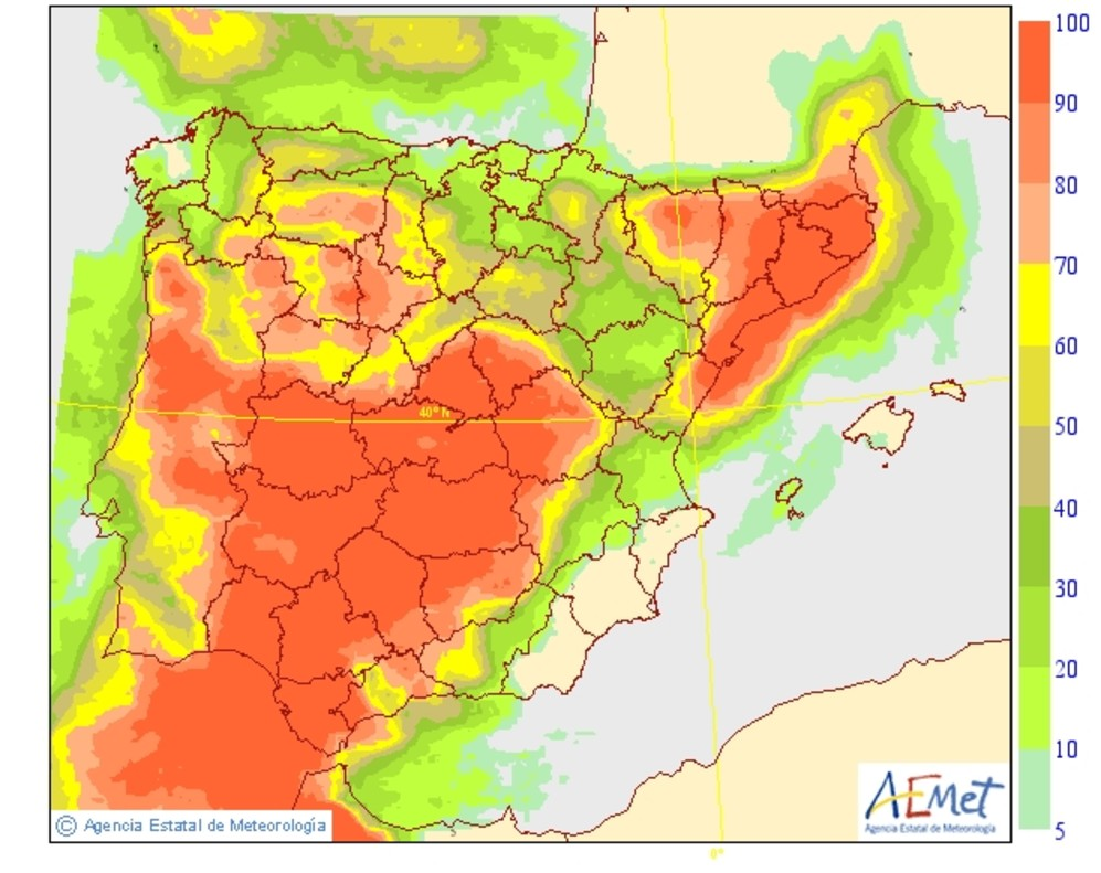 Tiempo en catalunya lluvias en el 12 de octubre - Tiempo en badalona por horas ...