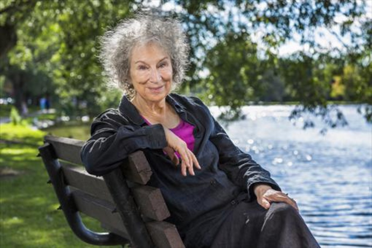 La escritora canadiense Margaret Atwood, en una imagen promocional.
