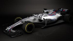 Williams se adelanta y enseña las primeras imágenes del coche 2017