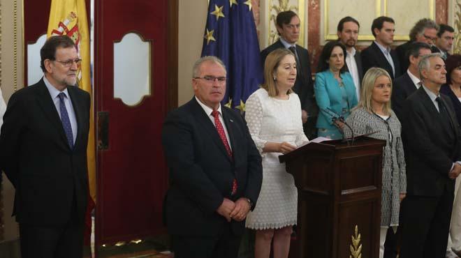 Congreso rinde homenaje a las víctimas del terrorismo