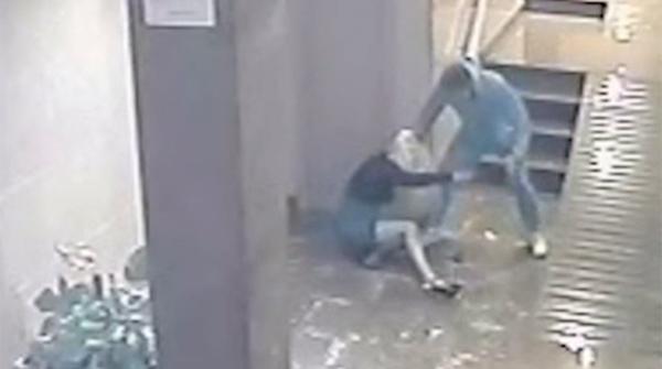 Agresión a una mujer en Alicante video de la Guardia civil