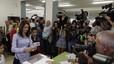 """Ciutadans celebra """"el gran resultat"""" que li auguren els sondejos"""