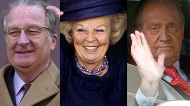Les últimes abdicacions de monarques europeus
